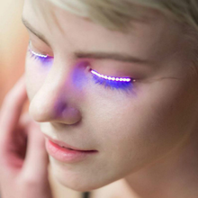 Load image into Gallery viewer, LED Luminous Voice False Eyelashes SP14664