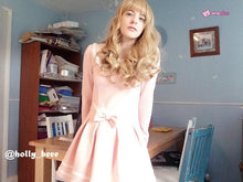 Load image into Gallery viewer, Lolita Curl K-ON Cosplay Gold Wig SP152569 - SpreePicky  - 2