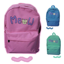Load image into Gallery viewer, Pink/Blue/Mint Cutie Neko Meow Backpack SP153146 - SpreePicky  - 1