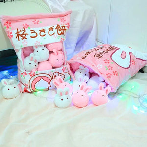 Cute Sakura Bunny Dolls SP13408