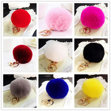 Load image into Gallery viewer, 13 Colors Kawaii Fluffy PomPom Key Chain SP1710732