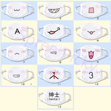 Load image into Gallery viewer, 13 designs Emoji Emoticons Face Dust Mask SP141360 - SpreePicky  - 5