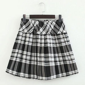 S-3XL Uniform Pleated Skirt SP154547 - SpreePicky  - 15
