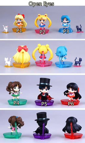 Sailor Moon Senshi Chibi Figures SP154651 - SpreePicky  - 2