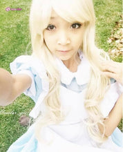 Load image into Gallery viewer, M/L [Alice In Wonderland] Blue Maid Dress With Apron Cosplay Costume SP141195 - SpreePicky  - 5