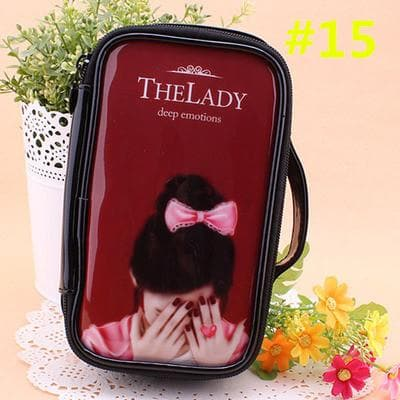 24 Patterns Cutie Girl Cartoon Cosmetic Storage Bag SP153063 - SpreePicky  - 18