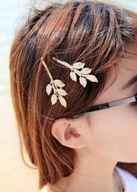 Hansenne Athena Lotus Leaf Hair Clip SP164756