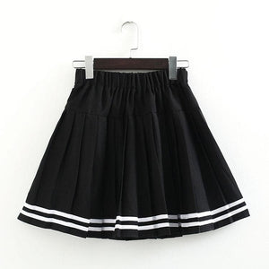 S-3XL Uniform Pleated Skirt SP154547 - SpreePicky  - 17