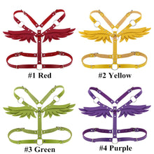 Load image into Gallery viewer, 16 Colors Gothic Wings Bondage Strap SP14034