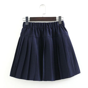 S-3XL Uniform Pleated Skirt SP154547 - SpreePicky  - 18
