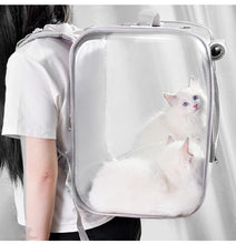 Load image into Gallery viewer, Portable Foldable Breathable Pet Carrier Backpack Pet bag SP15180