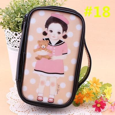 24 Patterns Cutie Girl Cartoon Cosmetic Storage Bag SP153063 - SpreePicky  - 21