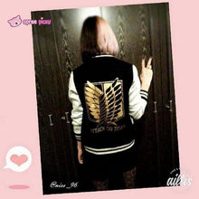 Load image into Gallery viewer, Attack On Titan The Survey Corps Wing of Liberty Black Jacket SP141594 - SpreePicky  - 6