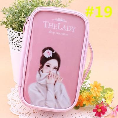 24 Patterns Cutie Girl Cartoon Cosmetic Storage Bag SP153063 - SpreePicky  - 22