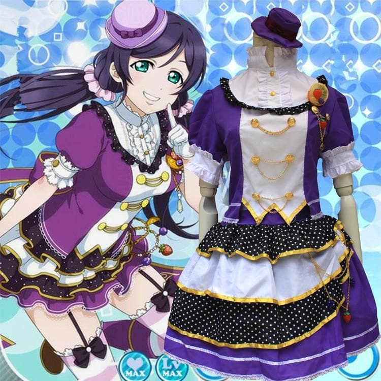 [Love live] Nozomi Tojo Fruit Maid Dress Cosplay Costume SP153592 - SpreePicky  - 1