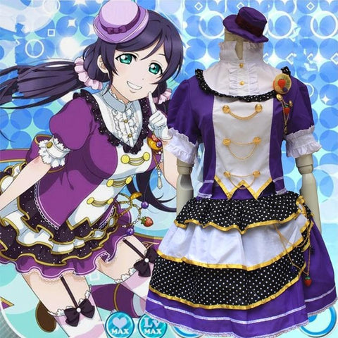 [Love live] Nozomi Tojo Fruit Maid Dress Cosplay Costume SP153592