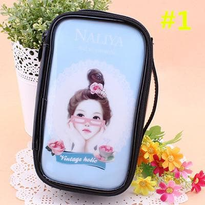 24 Patterns Cutie Girl Cartoon Cosmetic Storage Bag SP153063 - SpreePicky  - 4
