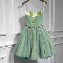 Load image into Gallery viewer, Cute Sweet Neck Short Prom Dress, Mini Dresses - SpreePicky FreeShipping