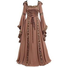 Load image into Gallery viewer, 4 Colors Gothic Lace-Up Maxi Dress SS054 - SpreePicky