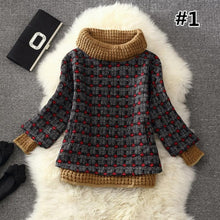 Load image into Gallery viewer, 7 Colors Grids Winter Pullover Fleece Jumper SP164708 - SpreePicky  - 3