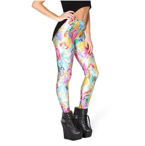 Wholesale Creative Punk Sexy Cute Girl Elastic Pant Leggings