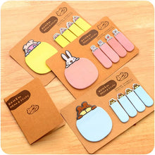Load image into Gallery viewer, 4 Colors Mori Girl Message Sticky Note SP153128 - SpreePicky  - 1