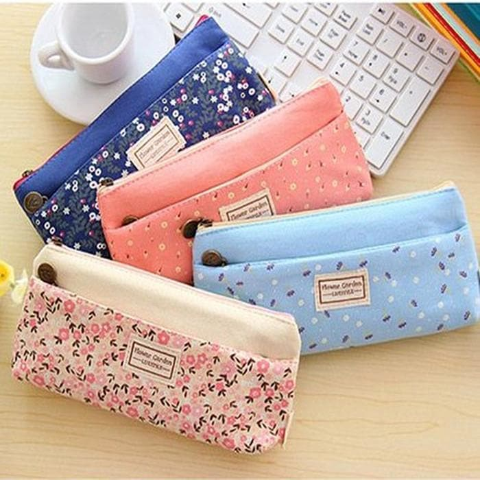 4 Colors Mori Girl Stationery Bag Storage Bag SP153123 - SpreePicky  - 1