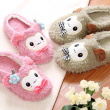 Load image into Gallery viewer, 4 colors Kawaii Cutie Animal Alpaca Fleece Home Slippers SP153521 - SpreePicky  - 1