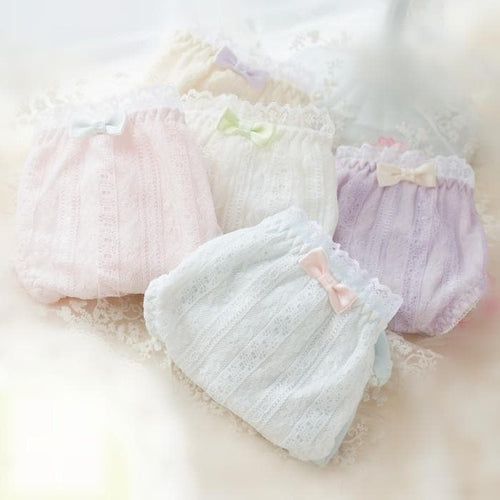 5 Colors Pastel Candy Lace Undies SP164903 - SpreePicky  - 1