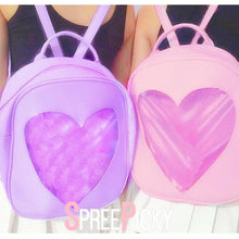 Load image into Gallery viewer, 6 Colors Kawaii Heart Backpack SP178851