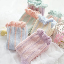 Load image into Gallery viewer, 6 Colors Pastel Candy Fleece Socks SP164905 - SpreePicky  - 1