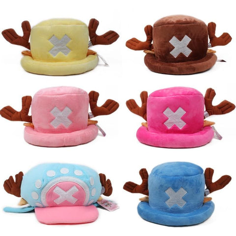 6 colors One Piece Chopper Fleece Hat SP153327