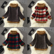Load image into Gallery viewer, 7 Colors Grids Winter Pullover Fleece Jumper SP164708 - SpreePicky  - 1