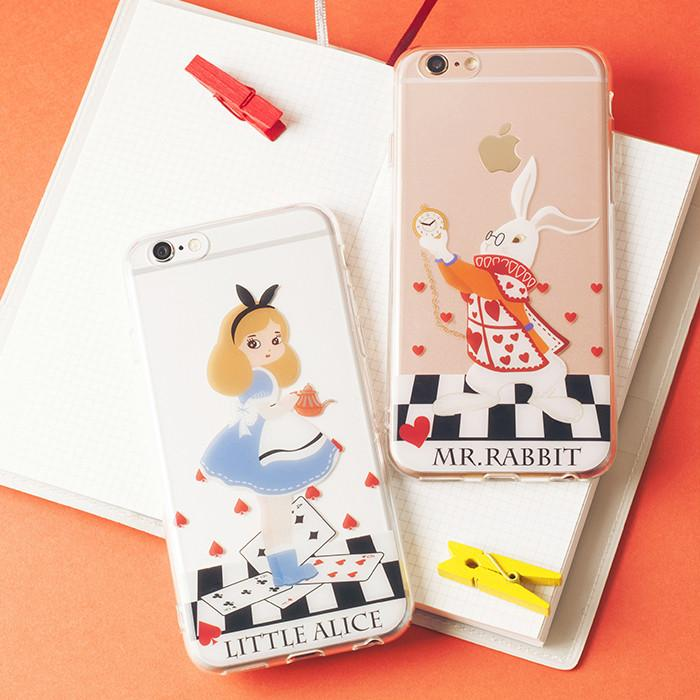 Little Alice/Mr.Rabbit Phone Case SP166215