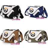 Black/Blue/Brown/Dark Green Overwatch Canvas Cross Body Bag SP168111