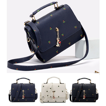 Load image into Gallery viewer, Black/Navy/Beige Carry a Kitty Shoulder Bag SP154294 - SpreePicky  - 1