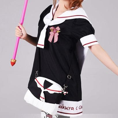 Black [Card Captor Sakura] Seifuku Shoulder Bag Hand bag SP153805 - SpreePicky  - 4
