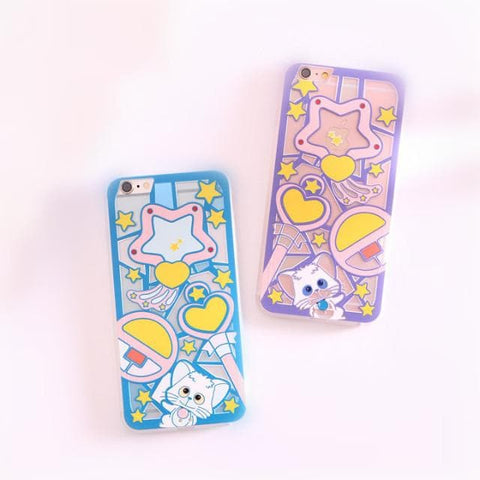 Blue/Purple Creamy Mami Cutie Phone Case SP154548