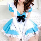 Blue Kawaii Maid Dress SP141200 - SpreePicky  - 2