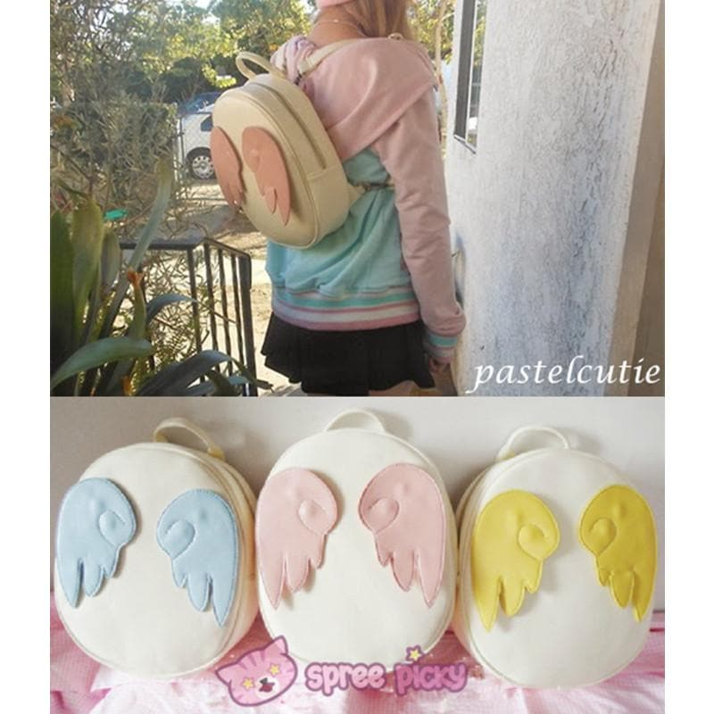 Card Captor Sakura Angel Wings Backpack SP140439 - SpreePicky  - 1