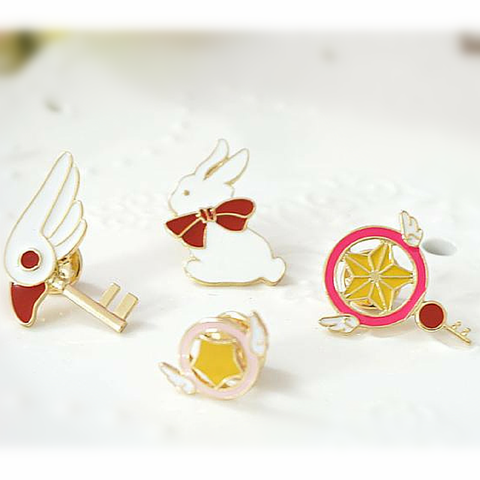 Card Captor Sakura Kawaii Emblem Brooch SP164990