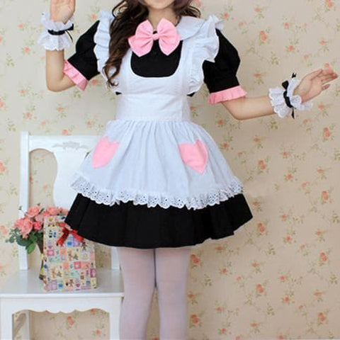Coffee Cafe Maid Dress SP141212 - SpreePicky  - 1