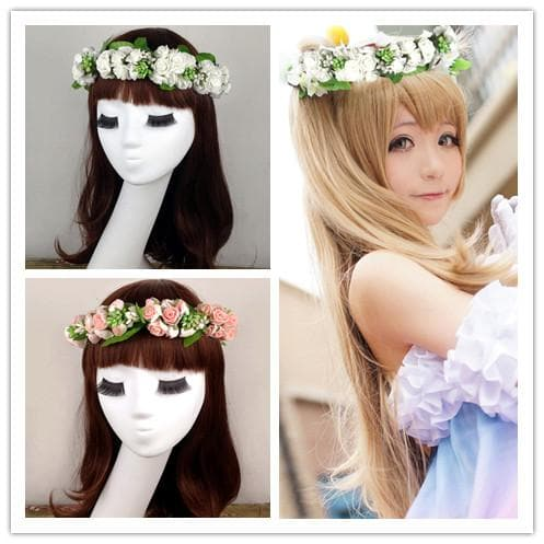 Cosplay Love Live Sweet Garland Hair Accessory SP153089 - SpreePicky  - 1