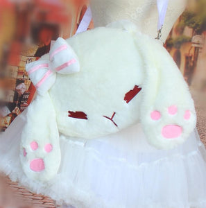 Cute Rabbit Lolita Princess Cosplay Shoulder Bag SP164870 - SpreePicky  - 1