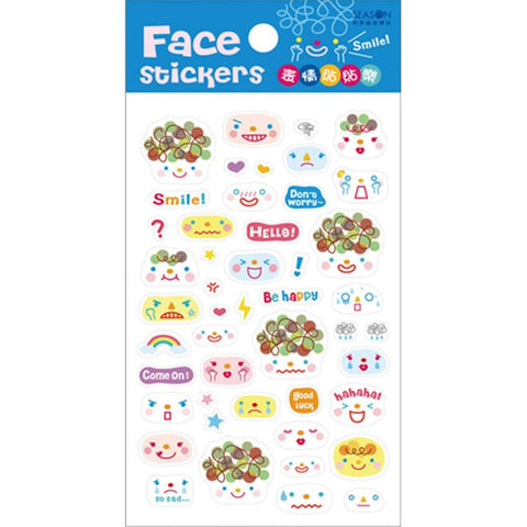 Cutie Funny Expression Stickers SP153130 - SpreePicky  - 1