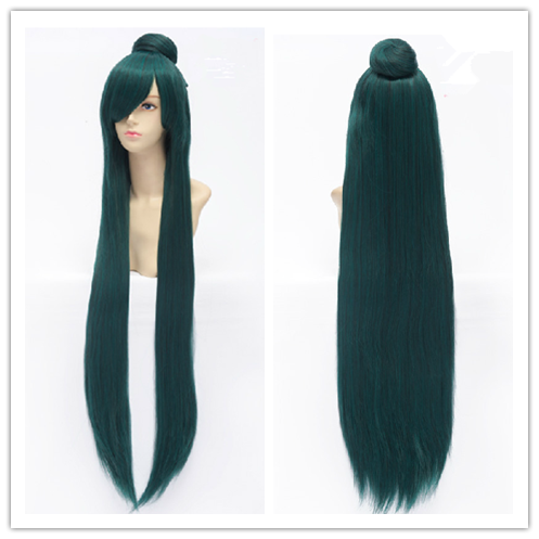 Deep Green Cosplay [Sailor Moon] Sailor Pluto Meiou Setsuna Wig 100cm SP152884 - SpreePicky  - 1