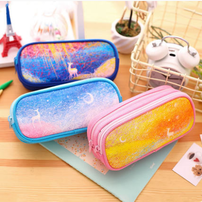 Galaxy Dreamy Deer Pencil Case SP1710386