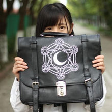 Load image into Gallery viewer, Gothic Retro Dark Magic 3 ways Backpack SP153641 - SpreePicky  - 3