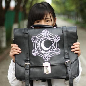 Gothic Retro Dark Magic 3 ways Backpack SP153641 - SpreePicky  - 3