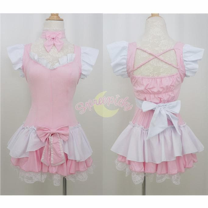 Halloween Cosplay Princess Maid Dress Free Ship SP141196 - SpreePicky  - 1